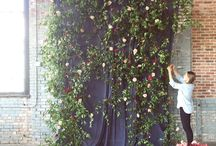 Floral Backdrops | Photo Booth