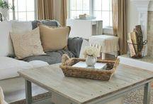 Livingroom, dining room & kitchen