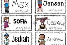 Grade 5 - Classroom decor and teacher materials