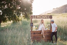 {Themed} Summer Photos / Theme inspiration for summer mini sessions | Ideas for capturing kids during the summer | Fourth of July ideas, lemonade stands, fireflies, fishing, etc.