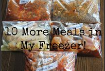 Love Me Some Freezer Meals... / by Wendy Dodds