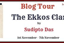 Ekkos Clan by Sudipto Das / It's the fascinating account of Kubha and the basketful of folklore she inherited from her ancestors. The eventful lives of Kubha and her family span a hundred years and encompass turbulent phases of Indian history. The family saga unfurls gradually, along with Kubha's stories, through the three main characters – Kratu Sen, a grad student at Stanford, Kratu's best friend Tista Dasgupta, and Afsar Fareedi, a linguistic palaeontologist.