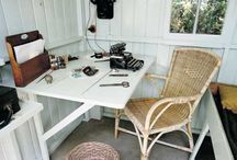 Creative space / Art studios, writer's huts, any place that creativity happens.