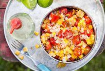 BBQ Salade recepten