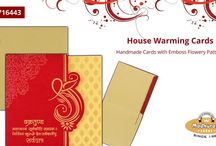 HOUSE WARMING CARDS / Beautifully Designed House Warming Cards By Madhurash Cards