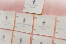 Place card ideas for seating / by Mina George