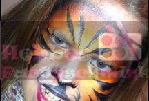 Dieren / Prachtige tijger met de nieuwe rainbow van Superstar