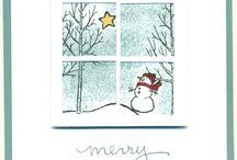 Weihnachten Stampin up