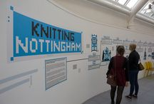 170 Years: Knitting Nottingham exhibition / A richly diverse collection of the futuristic and the retrospective: Knitting Nottingham challenged popular perceptions of knitting as cosy and nostalgic, showcasing creative design, art, technology and research across a wide range of knit-inspired work from internationally renowned designers, artists and researchers.  This exhibition took place at Bonington Gallery at NTU in November 2014.
