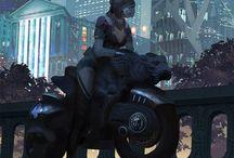 Imaginarium / High Fantasy, Sci Fi landscapes, cities and sceneries