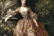 Research: 18th Century Historical / 18th century fashions and objects for men, women and children.