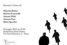 """""""Un baule pieno di gente"""". Immagini e parole in ricordo di Antonio Tabucchi / Facoltà di Lettere e Filosofia dell'Università di Siena. A cura di lavoroculturale.org"""