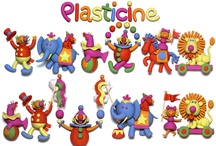 plasticine / plastivine creations and ideas - funy
