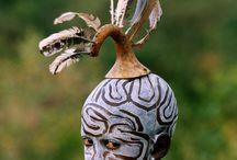 Tribos Surma e Mursi. Etiópia