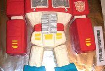 Optimus Prime / Transformers -  Optimus Prime Cake