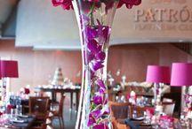 праздничные вазы с цветами