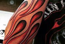 Flammen Tattoos