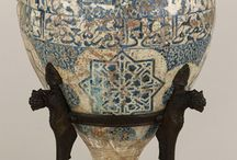 Alhambra vases / All ten surviving Alhambra vases from late medieval islamic Spain. There are also some fragments in various collections.
