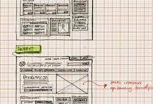 GUI-design wireframe (grapgic design) / by Henri Schevers