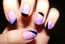 Geometric nails / geometryczne wzory