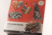 Origami / Origami ideas and supplies