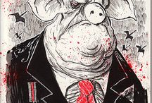 ILLUSTRATORS: Ralph Steadman / Illustrations and art by Ralph Steadman.