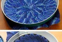 round hot mats for kitchen storage