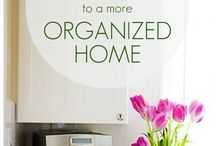 Stay Organized / Tips on how to organize and keep your new home clutter free.