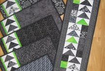 geese placemats and runner