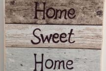 Home Sweet Home Signs