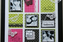 Pages scrap 30X30 / by Clo Bysos