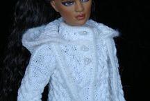 Tonner Dolls - knitted clothes / knitted clothes for dolls Tonner вязанная одежда для кукол Тоннер