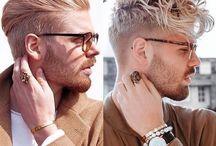Männliche Haarschnitte