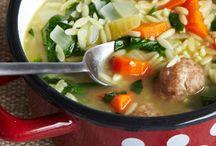 Soups and crockpot