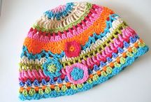 pretty crochet hat