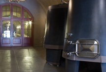 Conical Concrete Wine Tanks / Most of the world's finest wines are made in concrete, and Sonoma Cast Stone's concrete wine tanks are made in the California Wine Country, in consultation with legendary winemakers.