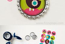 Loisirs créatifs - Bottle caps
