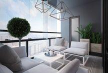 sedenie balkonové