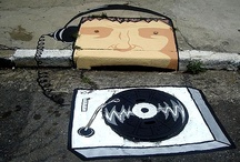 Bueiros e ruas com arte! / Arte muito bem feita para diminuir a frieza das ruas pelo mundo!