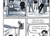 Introverts Comics