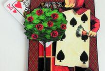 Alice in W: Tarot 4 / Alice in wonderland/Tarot cards