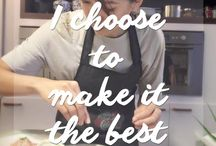 Cooking Quote / Cooking is an attitude