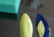 Gum paste lily
