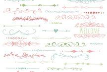 Ideas para lettering