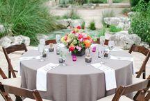 Hochzeit grau/ weiß