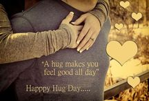 Happy Hug Day / Hug Day 2017 is the 6th day of Valentine's Day Week which is celebrate on 12th February. It is one of the special days in the Week of Valentine's Day in which couple feels closer to each other while they hug each other.
