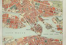 City maps