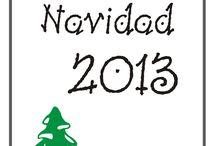Planificador de Navidad 2013 / Como planificar sin dejarnos nada