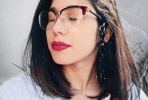 Óculos / Na hora da escolha, é preciso combinar o modelo com o formato do rosto e levar em conta também sua personalidade!