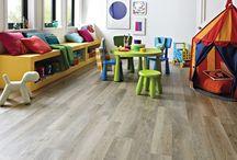 Detská izba / na tejto nástenke môžte vidieť to, ako vyzerajú naše podlahy v detskej izbe.